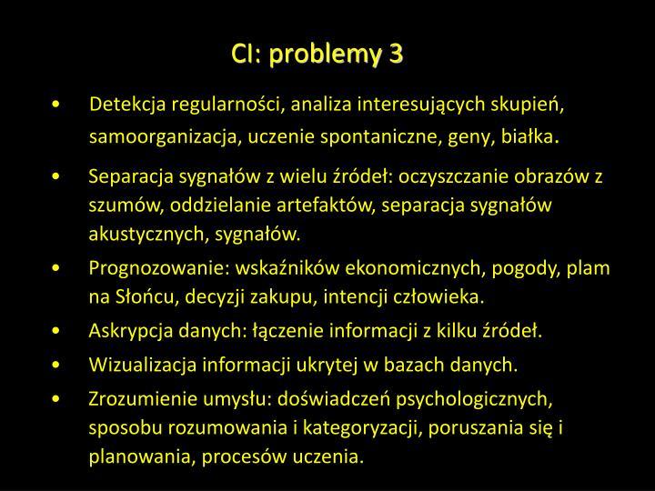 CI: problemy 3