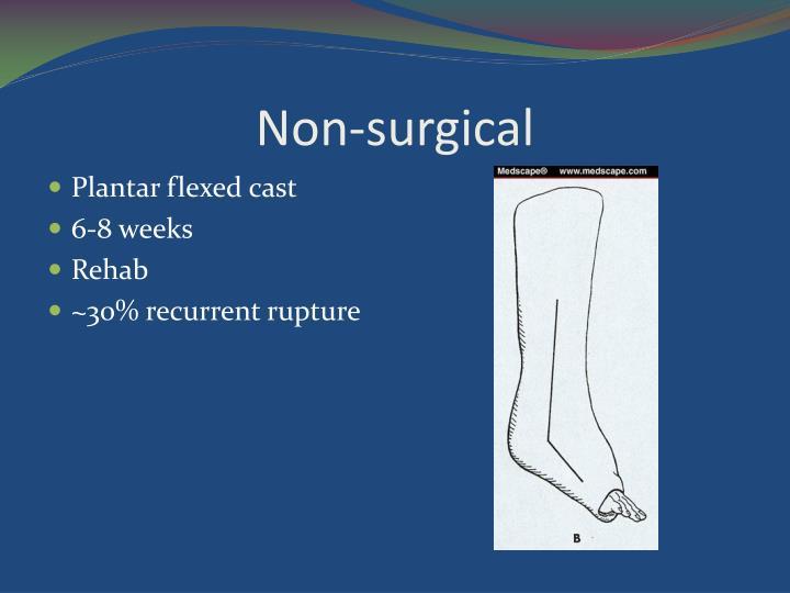 Non-surgical