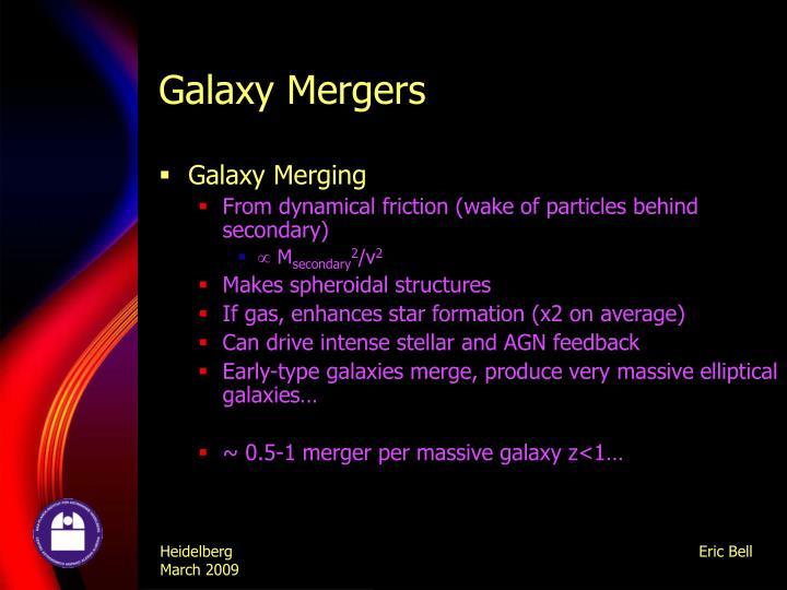 Galaxy Mergers