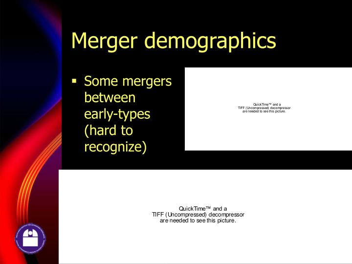 Merger demographics