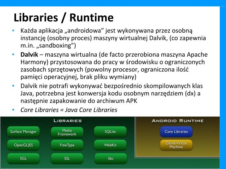 Libraries / Runtime
