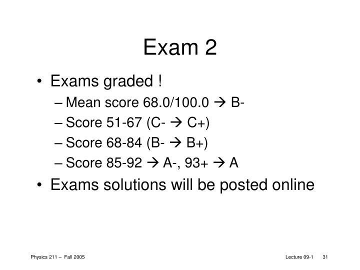 Exam 2