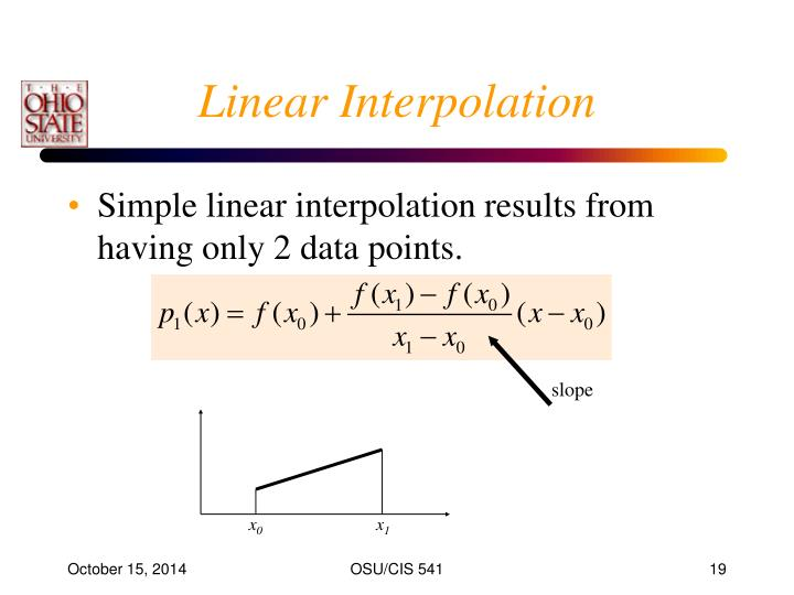 Linear Interpolation