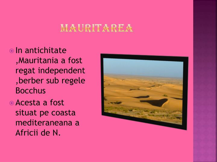 Mauritarea