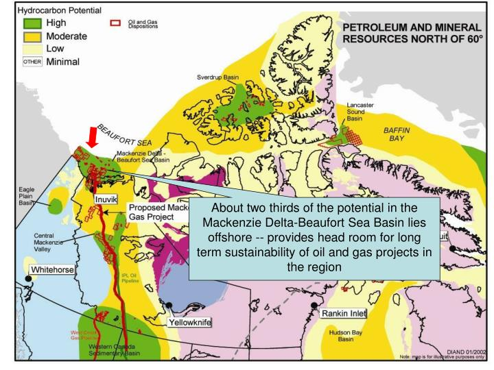 Canada's North – Map of Petroleum Potential