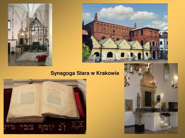 Synagoga Stara w Krakowie