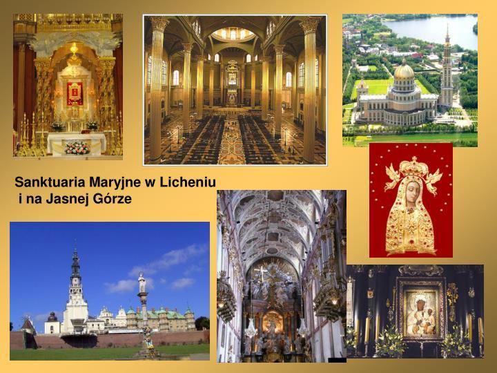 Sanktuaria Maryjne w Licheniu
