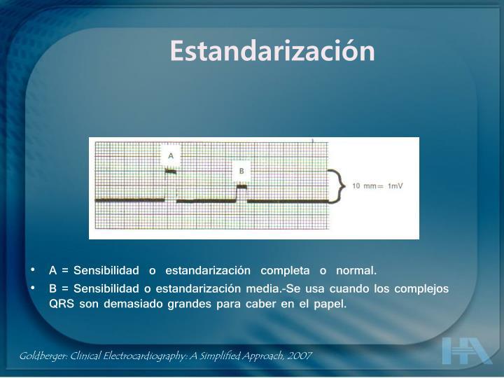 Estandarización