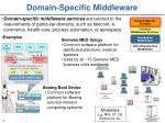 domain specific middleware