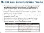 the ace event demuxing wrapper facades