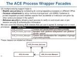 the ace process wrapper facades