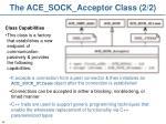 the ace sock acceptor class 2 2