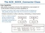 the ace sock connector class1
