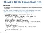 the ace sock stream class 1 2