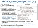 the ace thread manager class 2 2