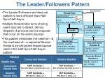 the leader followers pattern