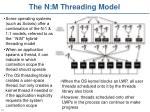 the n m threading model