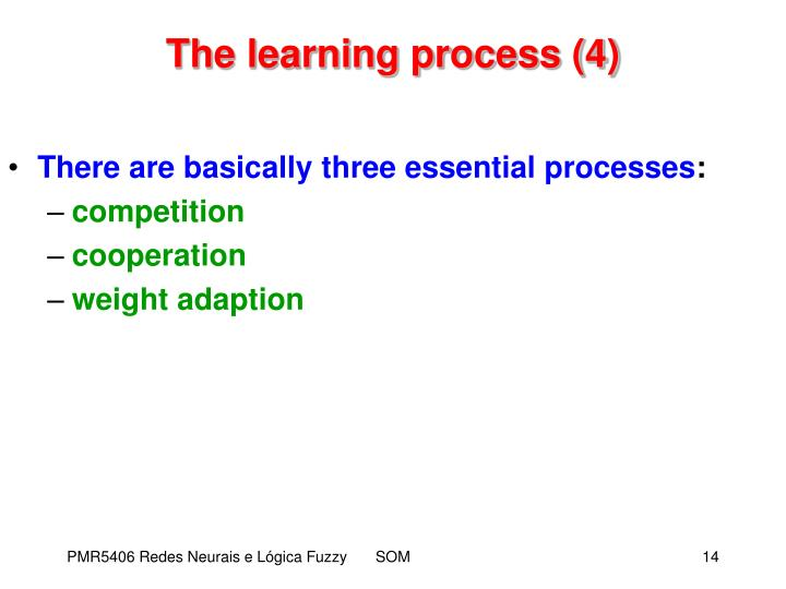 The learning process (4)