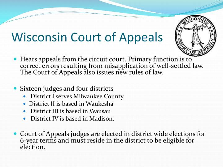 Wisconsin Court of Appeals