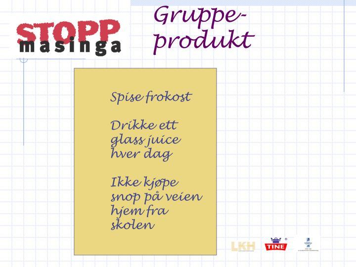Gruppe-produkt