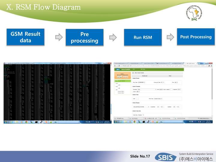 X. RSM Flow Diagram