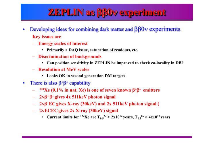 ZEPLIN as