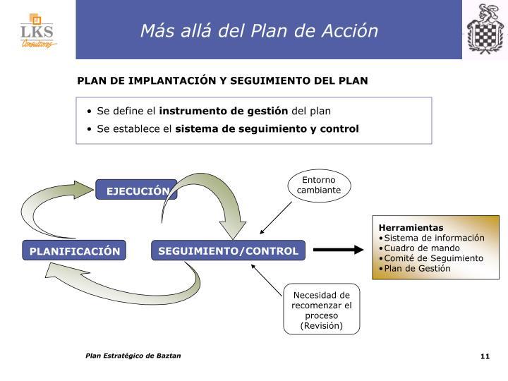 Más allá del Plan de Acción