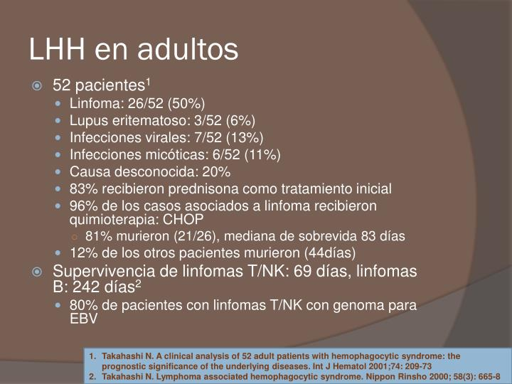 LHH en adultos