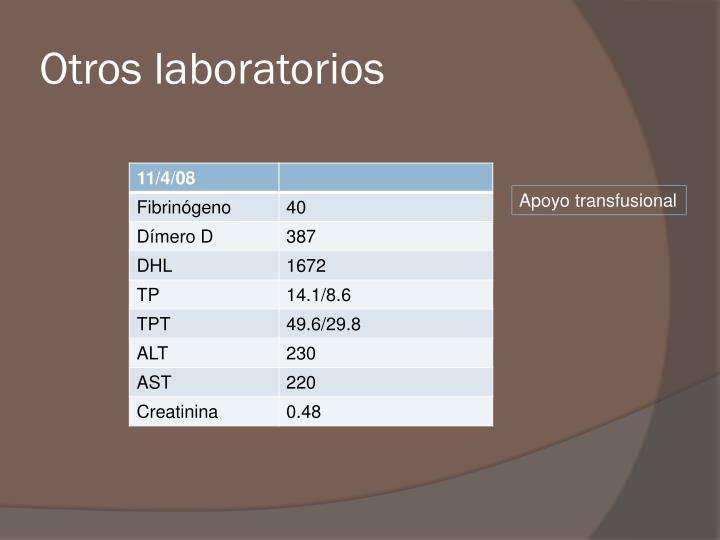 Otros laboratorios