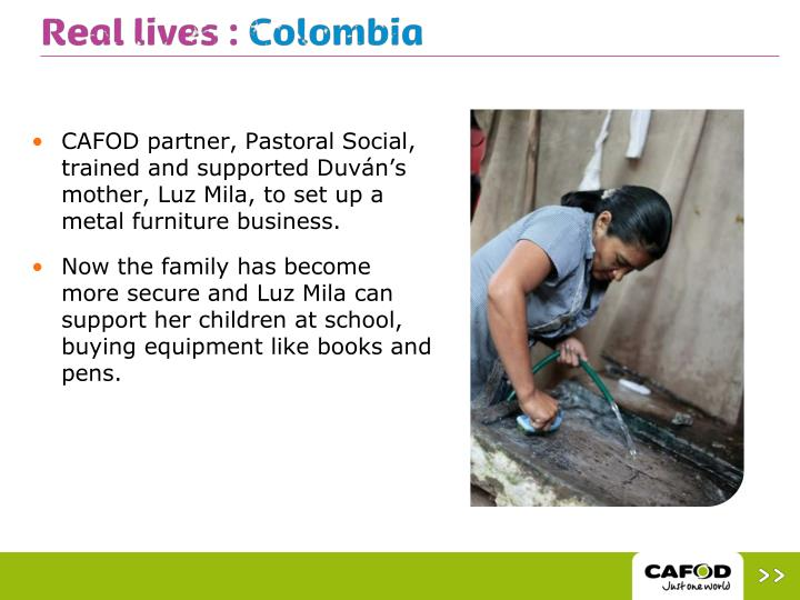 CAFOD partner, Pastoral Social, trained and supported