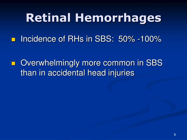 Retinal Hemorrhages