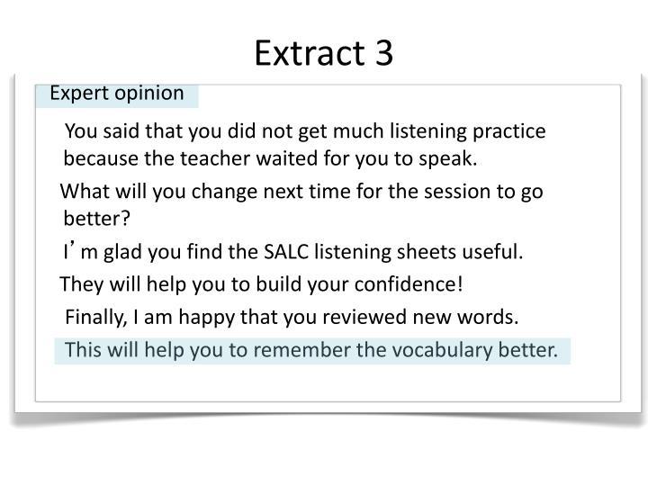 Extract 3