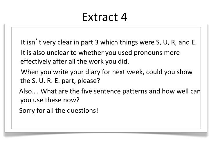 Extract 4