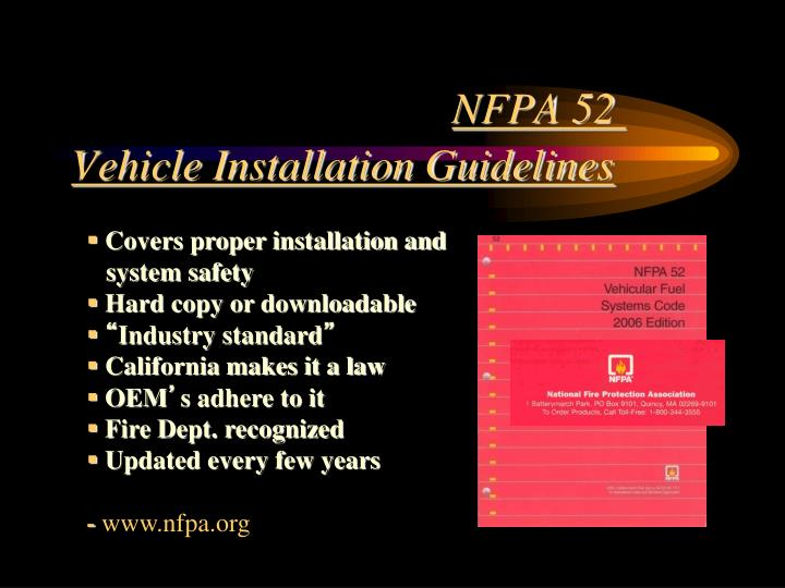 NFPA 52