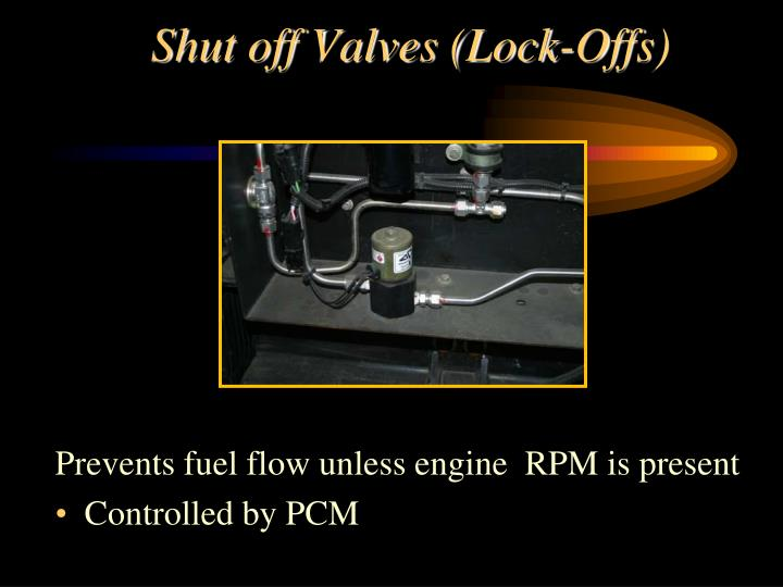 Shut off Valves (Lock-Offs)