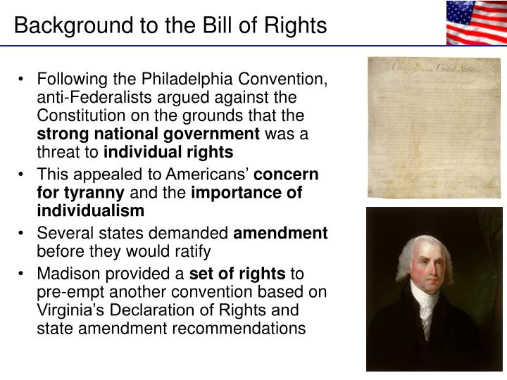 Following the Philadelphia Convention, anti-Federalists argued against the Constitution on the grounds that the