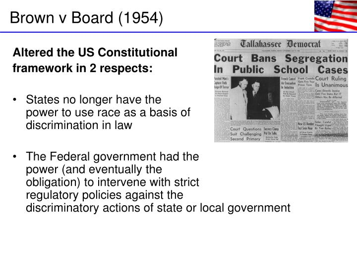 Altered the US Constitutional