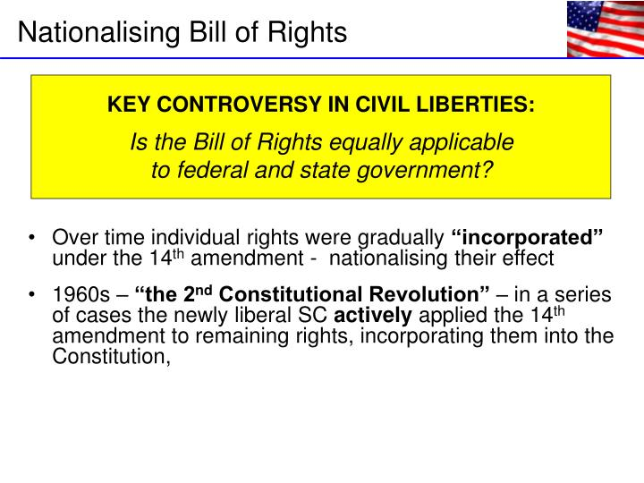 Over time individual rights were gradually