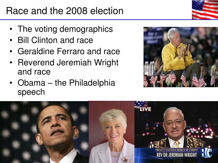 The voting demographics