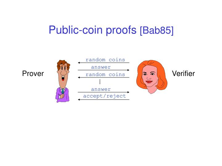 Public-coin proofs