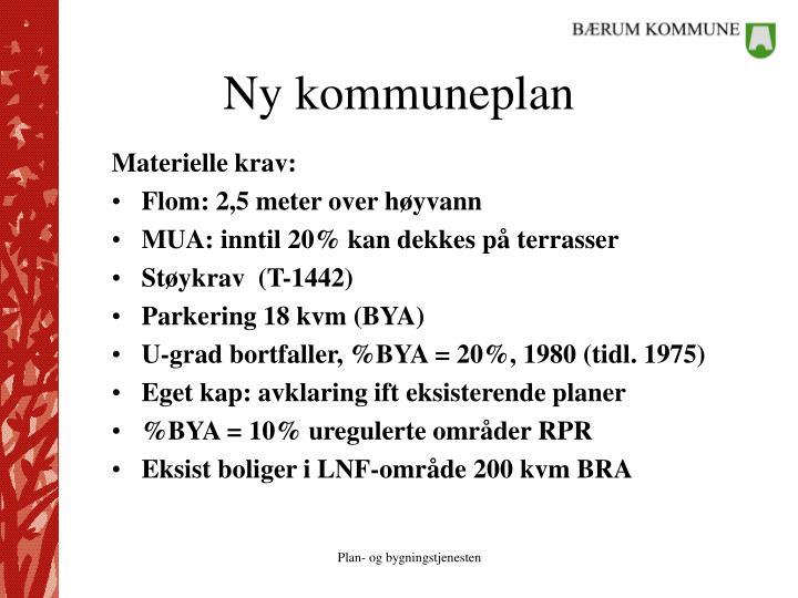 Ny kommuneplan