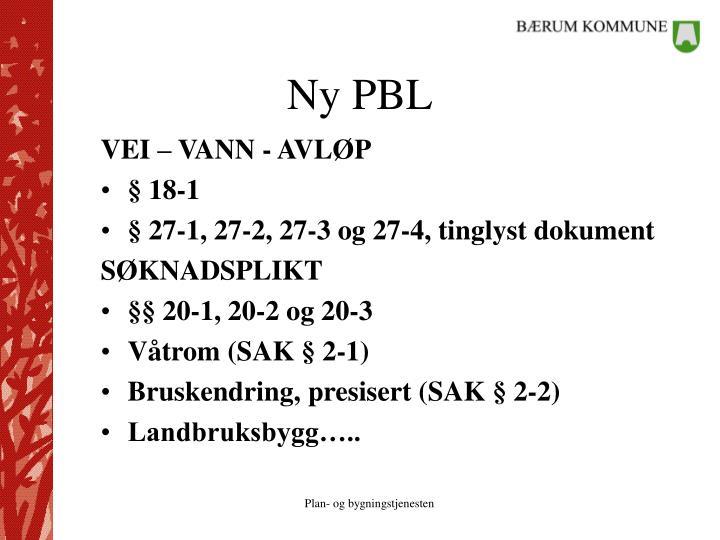 Ny PBL