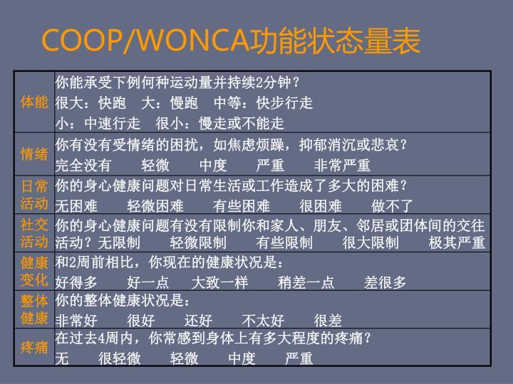 COOP/WONCA