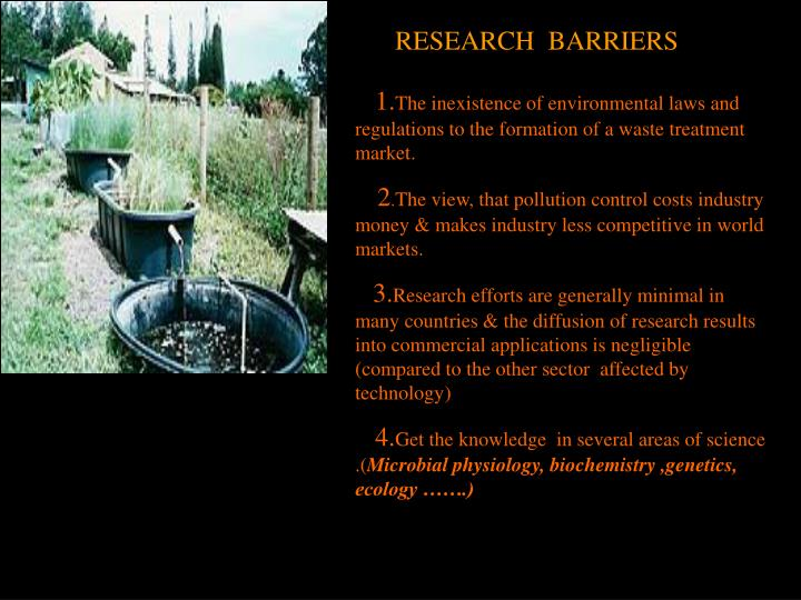 RESEARCH  BARRIERS