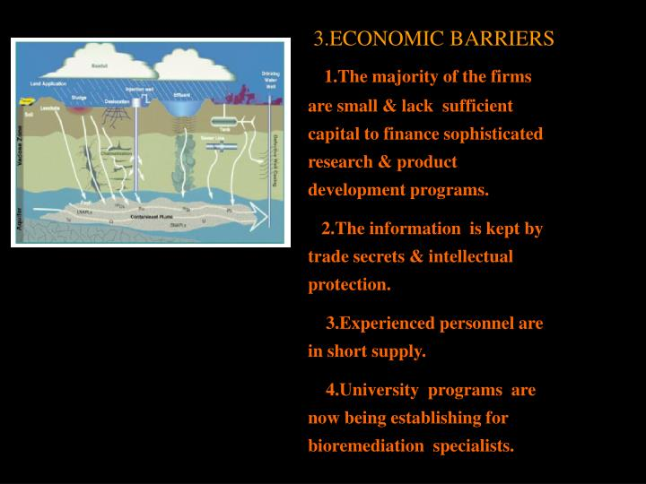 3.ECONOMIC BARRIERS