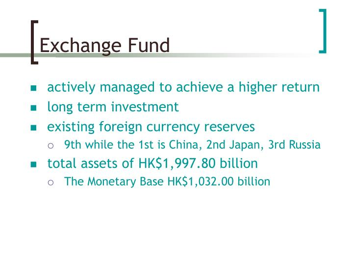 Exchange Fund