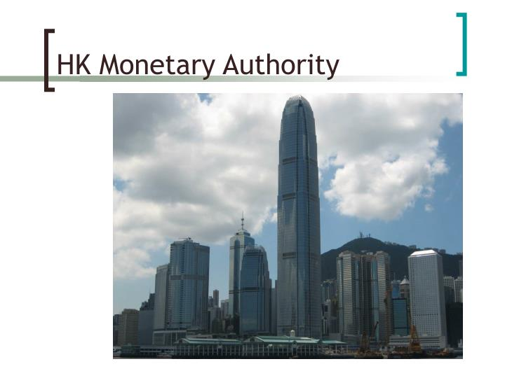 HK Monetary Authority