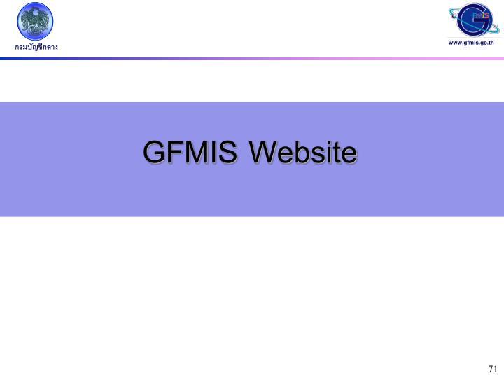 GFMIS Website
