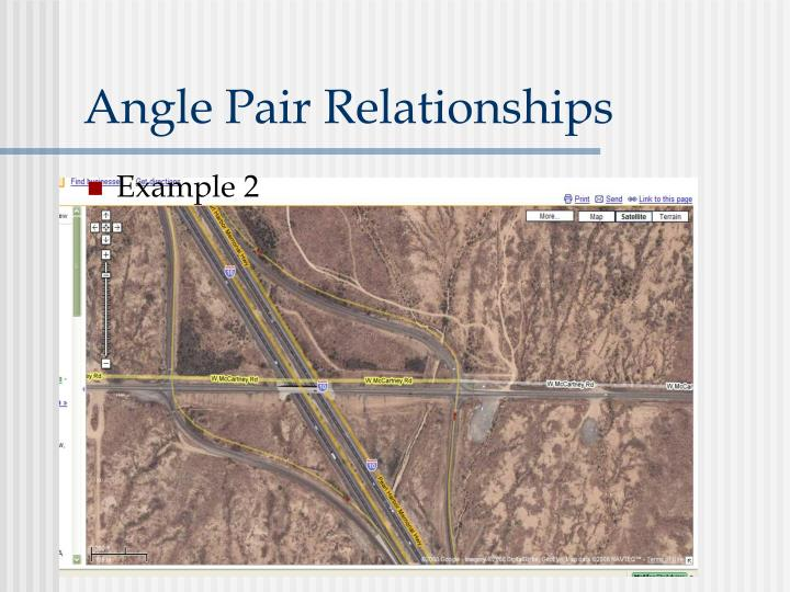 Angle Pair Relationships