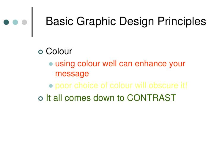 Basic Graphic Design Principles